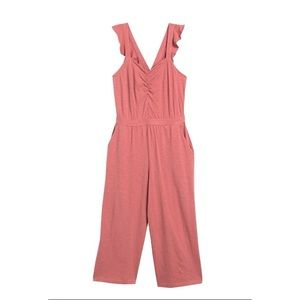 Susina Cinched Front Jumpsuit
